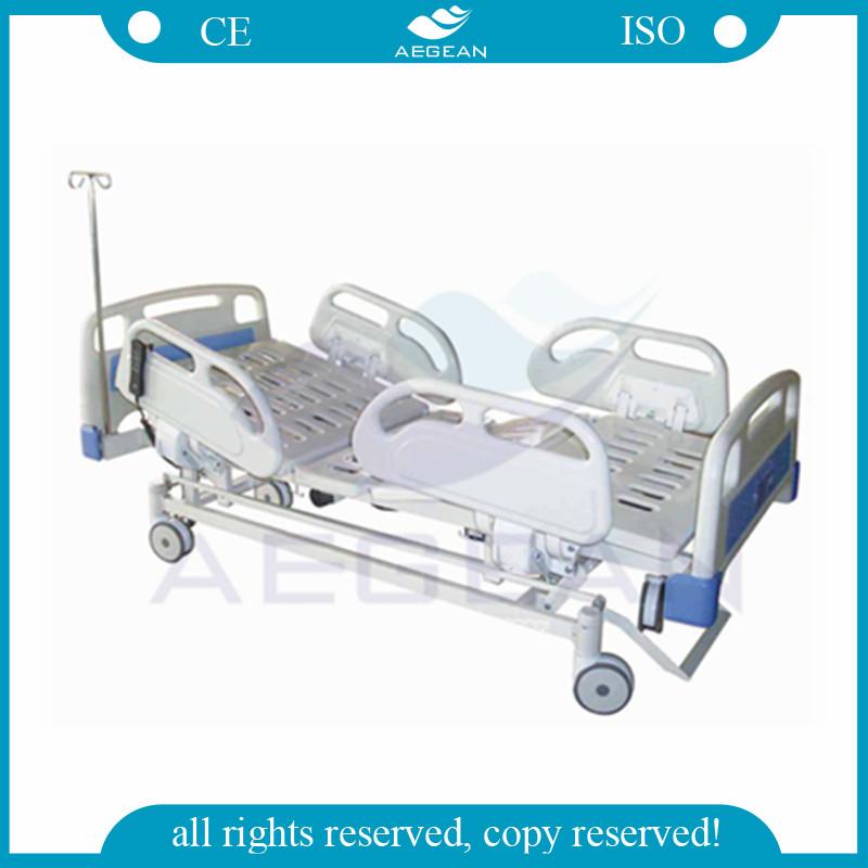 AG-BM103 Four ABS handrails hospital electrical cheap supply invacare bariatric bed