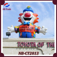 NB-CT2013 NingBang Oxford cloth hot selling folded giant inflatable cartoon for outdoor decoration