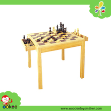 2016 toys game modern chess table with black & white rook bishop pawn toys direct from china
