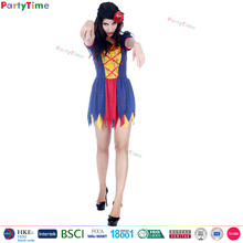women carnival halloween party demon costumes poison apple adult zombie costume