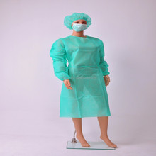 Nonwoven PP disposable isolation gowns