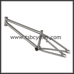 Most welcomed titanium alloy bmx bike frame TSB-BM1101