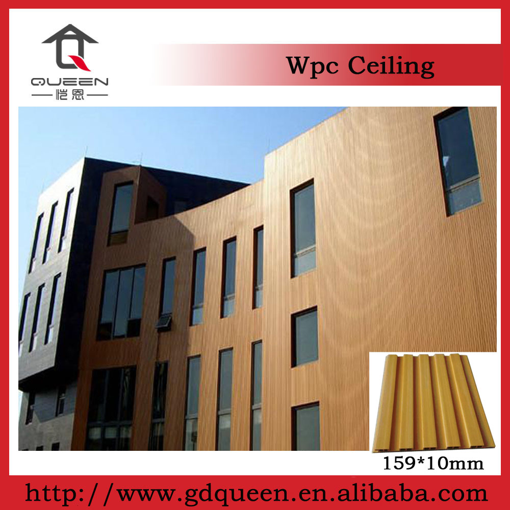 Wpc / waterproof Plastic Exterior Wall Panel / wpc Wall Panel