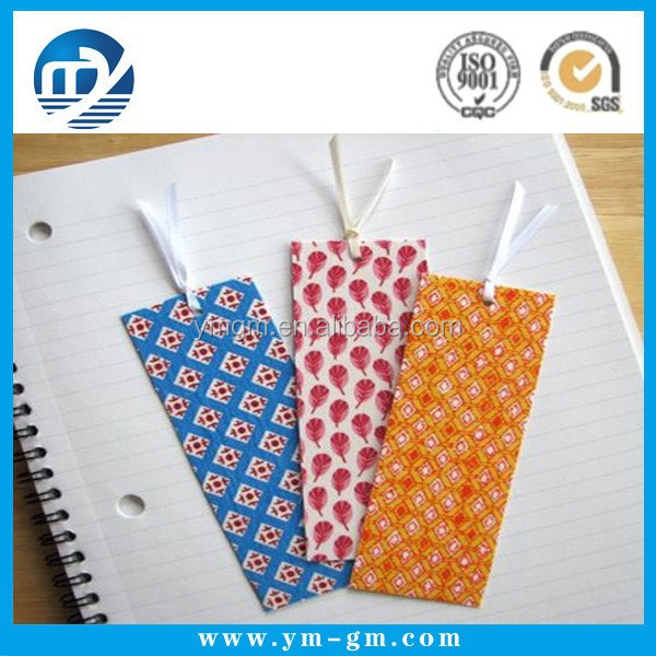 Wholesale fabric bookmarks paper bookmarks
