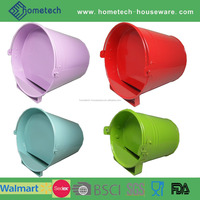 Colorful metal animal feed tool water trough bucket
