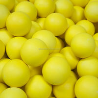 Hot Sale 60mm, soft ball, Rubber high bouncing ball, made in Thailand (glow in dark)