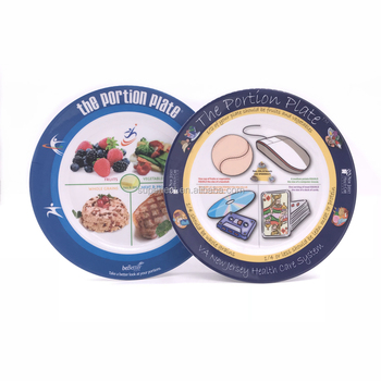 High quality Wholesale cheap custom print melamine plates