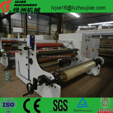 Protection film non-woven roll masking tape FEP TTR fiberglass adhesive tape slitting rewinding laminating machine