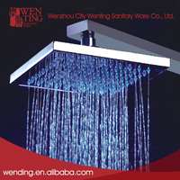 Floor stand water powered led shower head, led overhead shower