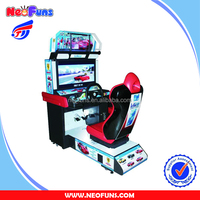 Amusement Center Coin Operated Electronic Game Machine Simulator Play Car Racing Video Games