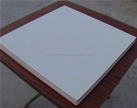 foil back Gypsum ceiling tiles, pvc laminated gypsum board