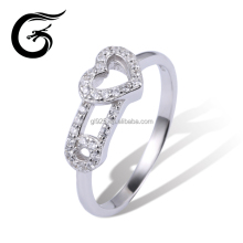 Top design ring 925 silver rings cz jewellery wholesale