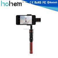 Hohem 2017 Hot selling camera gyro stabilizer smartphone handheld gimbal 3 axis cell phone gimbal stabilizer