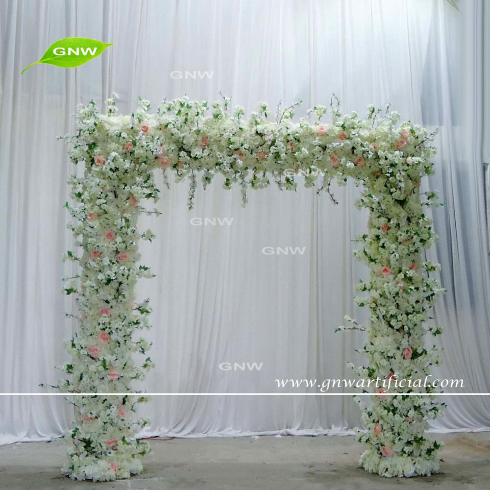 GNW BLS1707004 Full peach blossom tree for wedding table