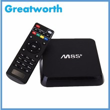 Hot tv box M12N Amlogic S912 2G 8G Android 6.0 KODI 16.1 2.4G 5G WIFI With External Antenna mx 3 android tv box OTT TV BOX