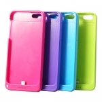 2200mAh Rechargeable External Battery Backup Power Bank for iPhone 5 - 4 Colors