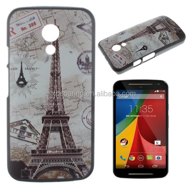 for moto G2 tower case back cover , for Moto G2 cellphone case, hard cover for Moto G2