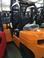 3.5 ton forklift truck with 6m lifting