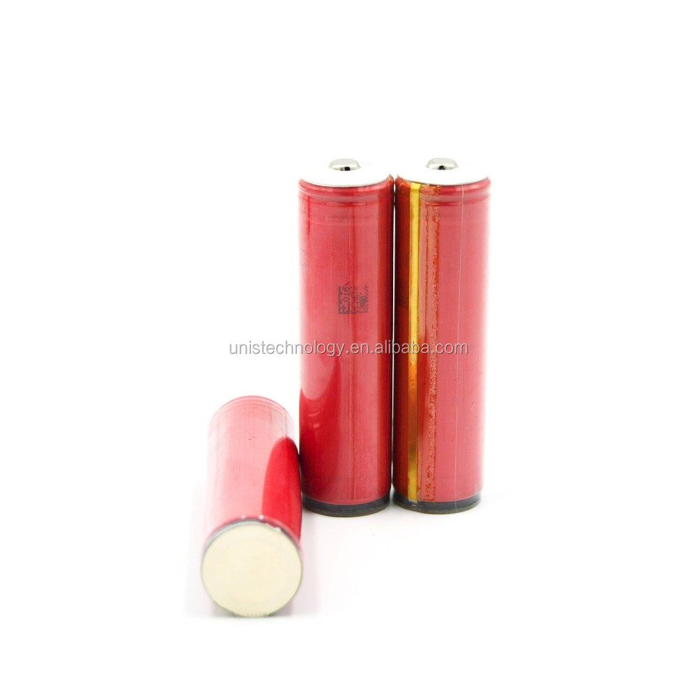 High capacity & High discharge rate Sanyo NCR18650GA with PCB 3500 mAh 10A 3.7V 18650 rechargeable battery use for UAV & E-bike