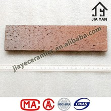 Paver red ceramic brick stones
