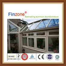 Modern design new product decorating sunrooms with low-e glass