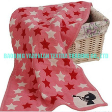 100% cotton towels manufacturer with star design