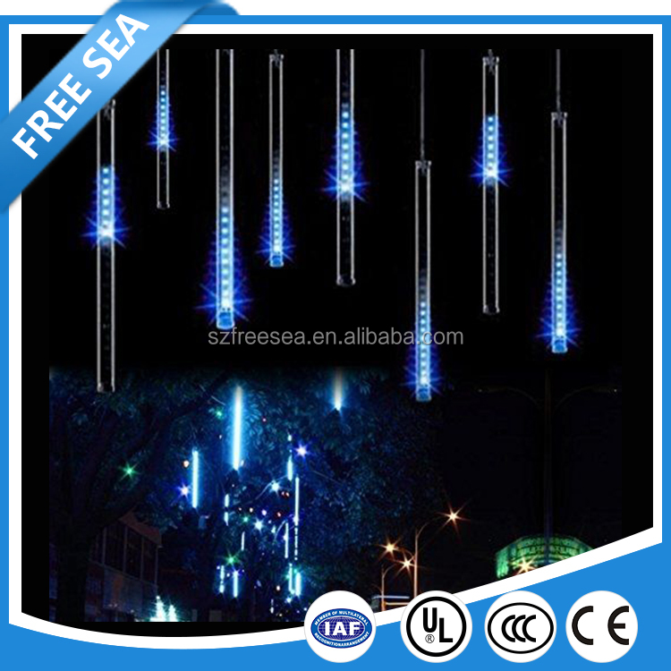 Brightness Rainfall led meteor 80cm String light for tree decor