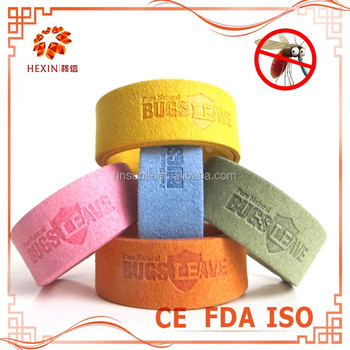 Amazing free sample customized anti mosquito bracelet for lady