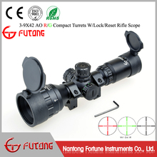 Rifle Scope 3-9x42 AO R/G Target Turrets W/Lock/Reset Capabilities Long Eye Relief Compact Riflescope Hunting Riflescopes