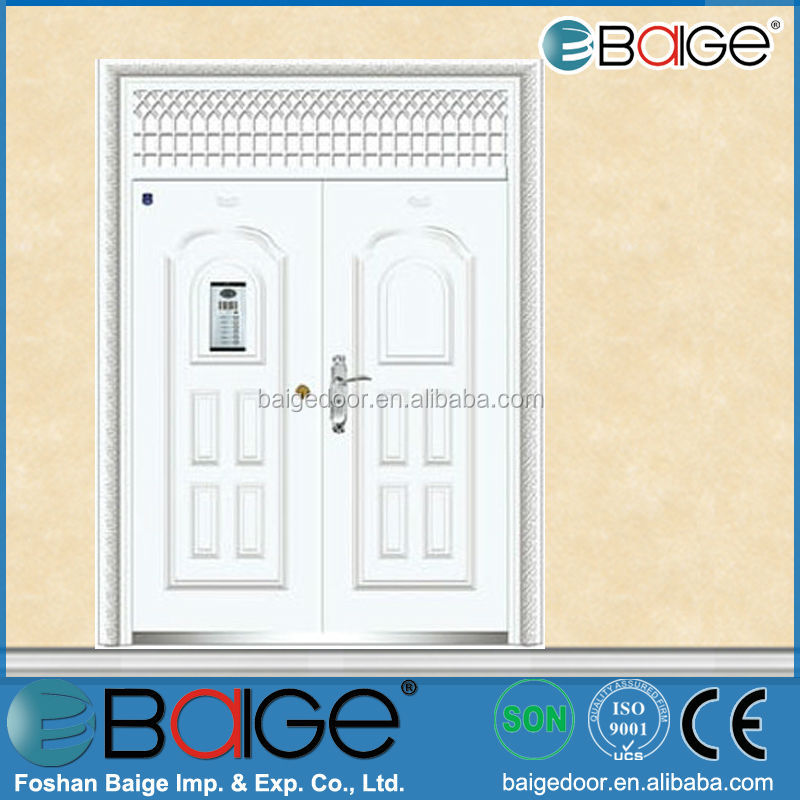 BG-SS9020 indian door designs double stainless steel doors
