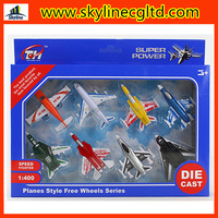 High quality metal set toy die cast car/truck/airplane set toy small metal toy cars for sale