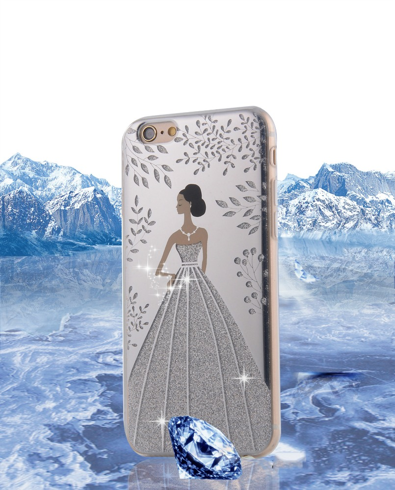 3D Relief Printing European market hotselling PC + silicone combo mobile case for iPhone7
