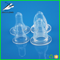 High Quality Factory New Design Liquid Silicone Nipple Baby Bottle Pacifier Clip
