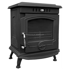 Multi-function Cast Iron Enamel Wood Stove With Back Boiler