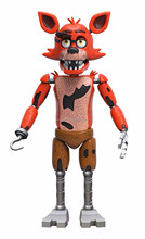 Funko Five Nights at Freddy's Articulated Foxy Action Figure,plastic vinyl figure