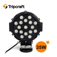 Wholesale factory direct 2015 NEW Arrival High Performance 51W Truck Suv Atv Auto Led Work light/offroad Led Work Light