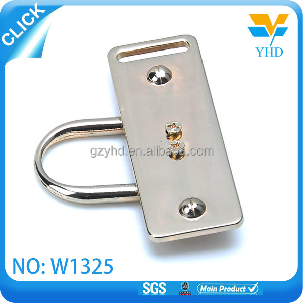 shiny luggage handle accessory leather bag parts and accessories