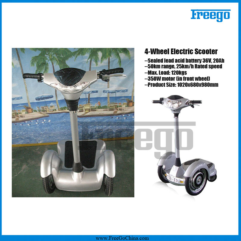 Freego ES350A 3 wheel adult mini gas scooter