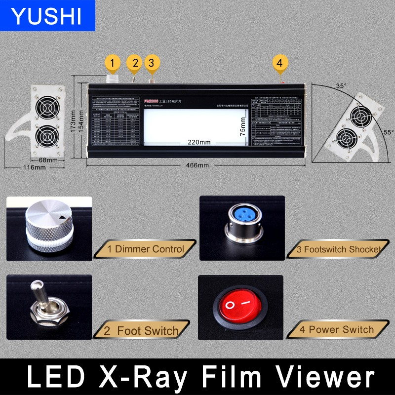 X-ray Film Viewer(LED Light) supplier