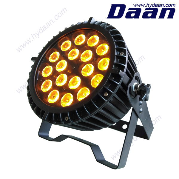 18pcs 4in1 led par64 light / Night club lighting DMX512 par64 / RGBW led par for DJ and wedding