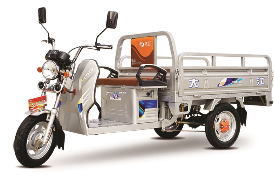 high quality middle size eco friendly electric three wheeler for cargo use