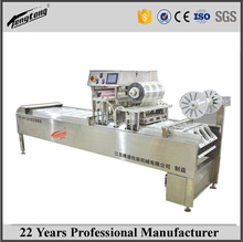 Pork MAP gas flushing vacuum tray sealer, tray vacuum packing machine