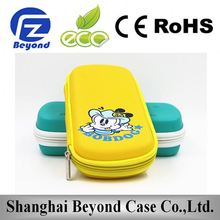 customized EVA pencil case/plastic pencil box/new style school pencil case