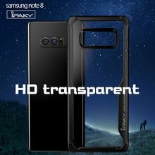 IPAKY Transparent Back Cover for Galaxy Note 8 HD Clear, IPAKY PC Case for Samsung Note 8