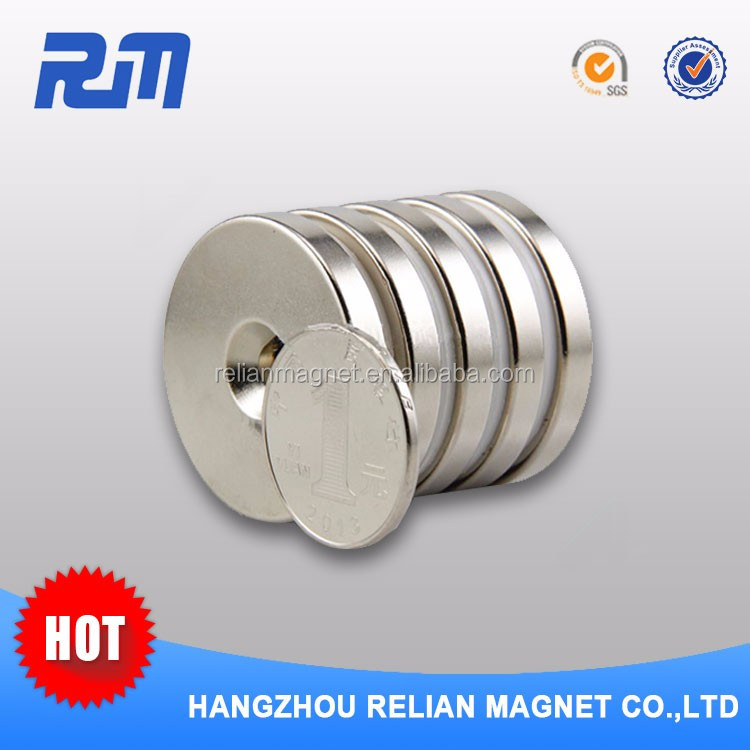 Free sample China professional strongest hole in one magnet ferrite