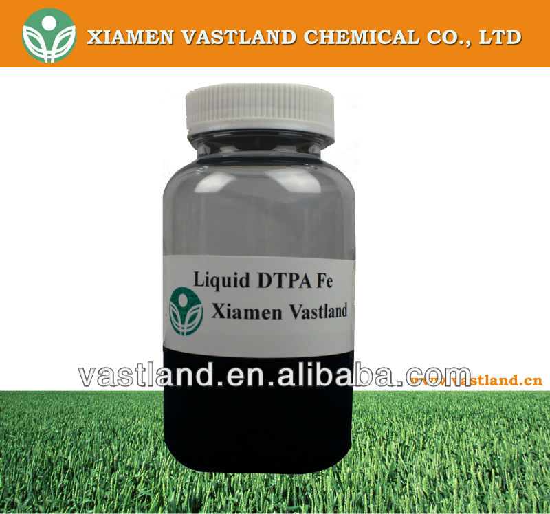 DTPA iron chelate for agriculture