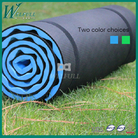 Outdoor duble layer egg slot camping mat