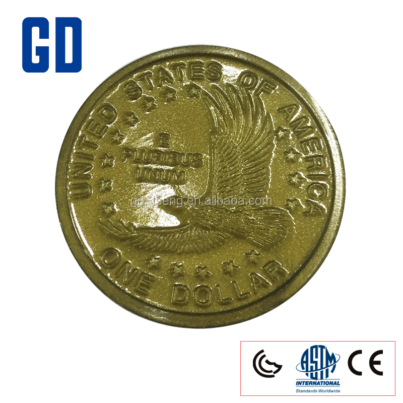 GD -50PCS 1 Dollar Set/Play Coins set/Learn Money
