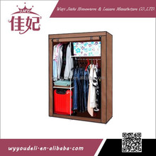 steel tube frame painted glass wardrobe sliding door