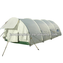 light weight tunnel tent white